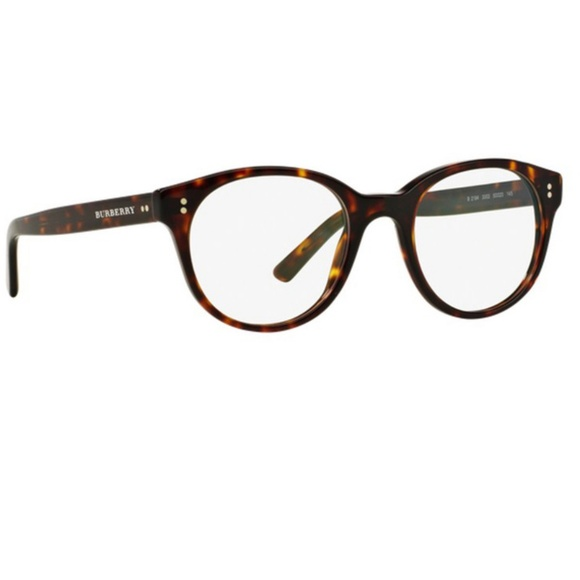 30ddca9692 Burberry Round Dark Havana Eyeglasses